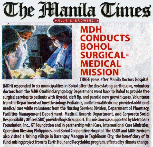 MDH Surgical-medical mission