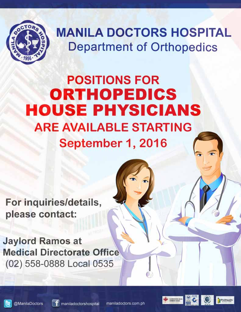 Ortho residency 2016 copy